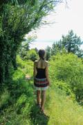 Down the narrow path