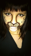 Decided to try Leopard Makeup!