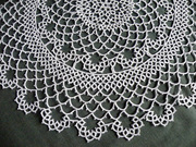 Classic doily close-up
