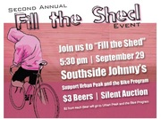 Support the Urban Peak Bike Program at the 'Fill the Shed' event