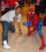 Doin it Spidermans way