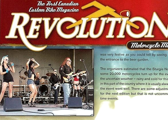 revolution magazine SKARD rock band - Check out SKARD music videos on YouTube