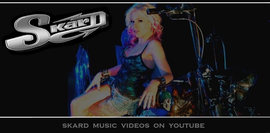 SKARD rock band ~ True Biker Rock ~ Check out SKARD on YouTube   BIKES BABES and Good Rockin Music