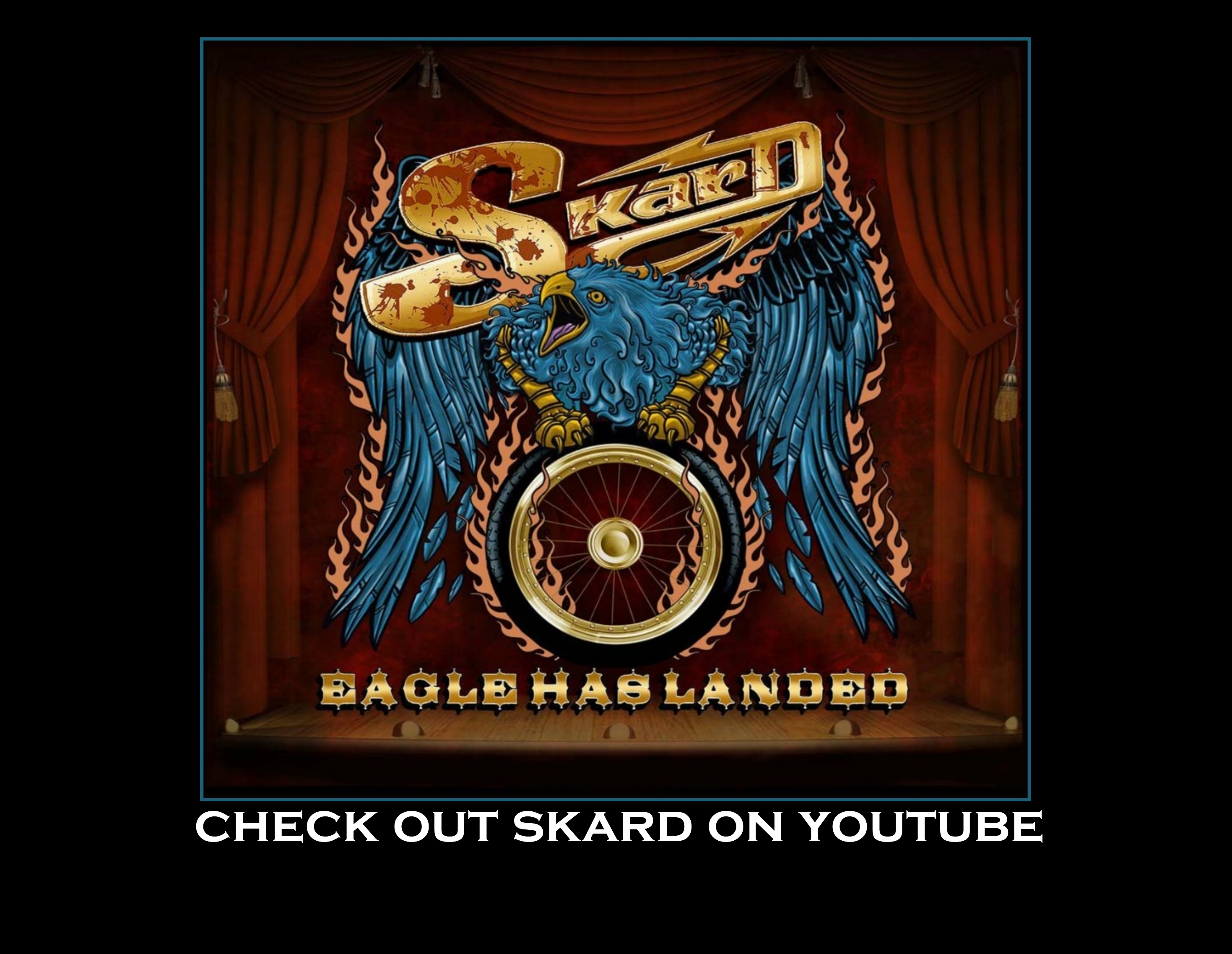 SKARD rock band - True Biker Rock  EAGLE HAS LANDED Album