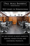 Wet Shave in Birmingham   Call 01217941693   pallmallbarbersbirmingham.com