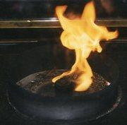 gandhi samadhi flame square