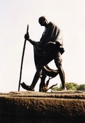 gandhi monument delhi solo