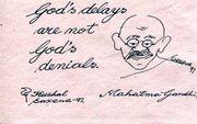Gandhi on patience