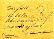 Gandhi on faith