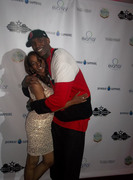 Shae Thomas of 4UEntertainment and NBA Star Joe Smith