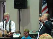 Church Singing with Jones & Sibley