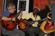 Martin Rosenberg and Mark Strickland at Little E's