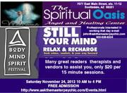 Body Mind Spirit Festival at the Spiritual Oasis