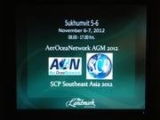SCP Southeast Asia 2012 Bangkok