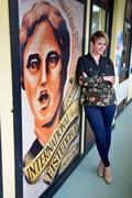 Vicky Yannoula, Eisteddfod office1