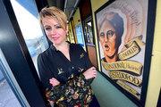 Vicky Yannoula, Eisteddfod office2