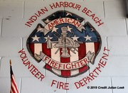 Indian Harbour Beach Fire training with First Flight