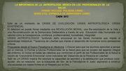 POSTER: LA IMPORTANCIA DE LA ANTROPOLOGÍA MÉDICA EN LA FORMACIÓN DE LOS PROFESIONALES DE LA SALUD.