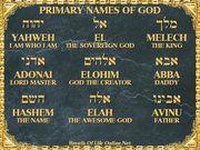 Names of Elohim