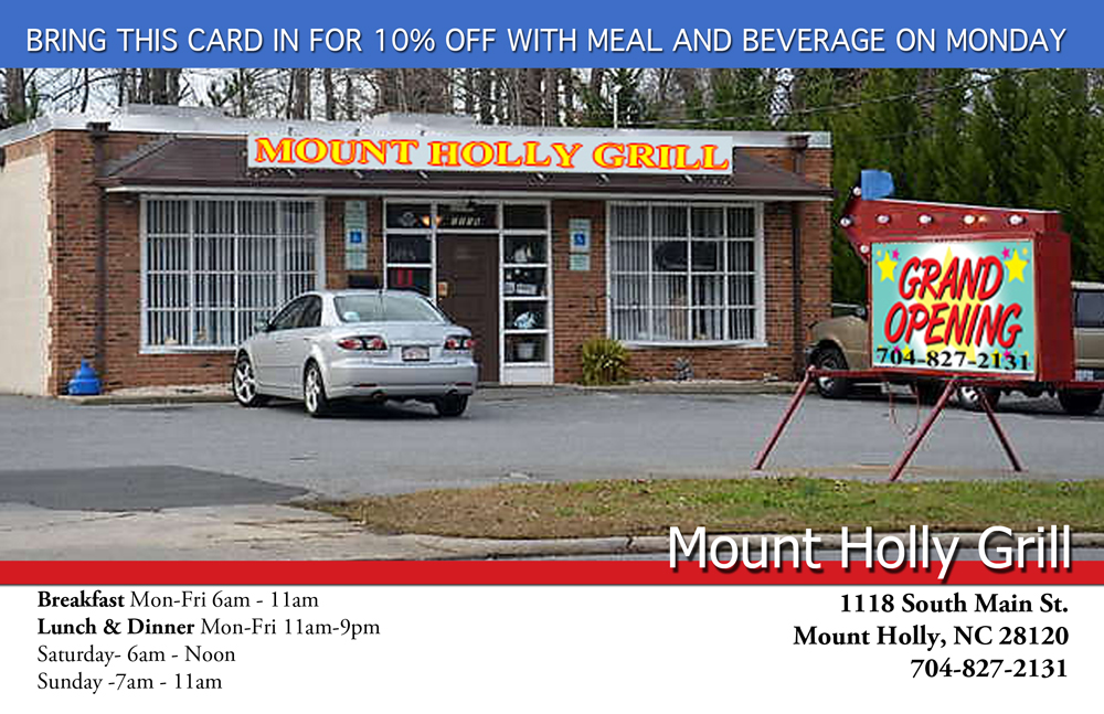 Mount Holly Grill - 704-827-2131