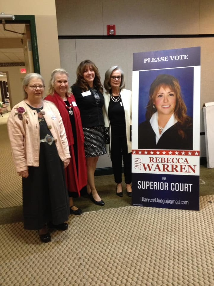Warren at Adams County dinner