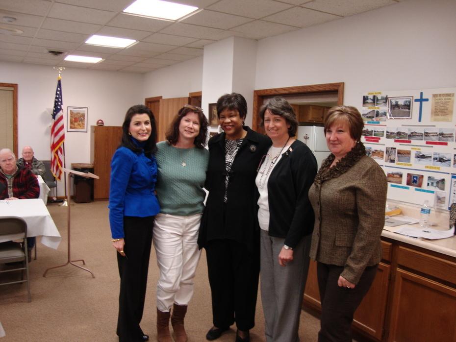judge allen with Republican Women