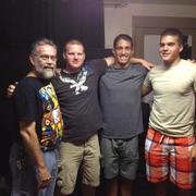 Four Generations Dave, Chris, Sjon, Ben