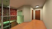 Sala de Espera Superior V para mezanino e consultórios superiores Dt