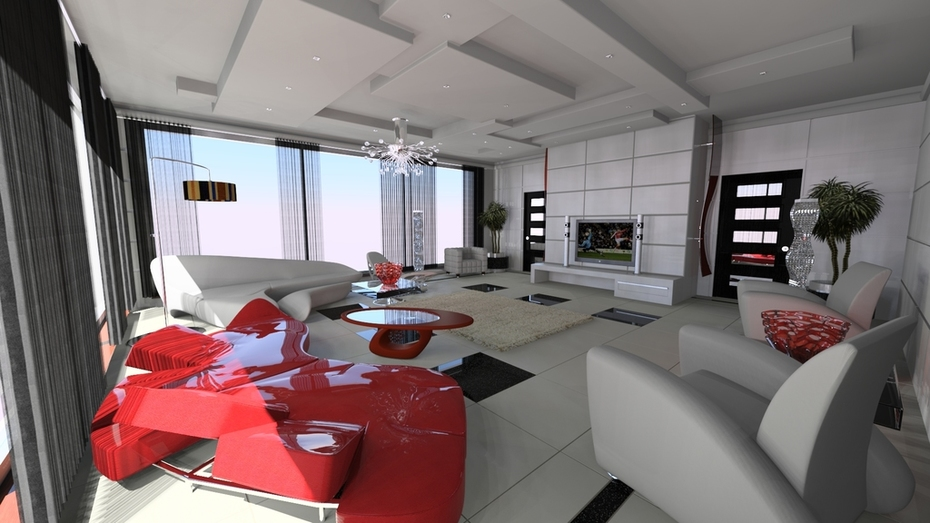 Lounge designed by Mike Makki