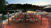 Sun set view-restaurant-mike makki
