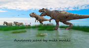 when dinosaurs ruled the earth scene by mike makki