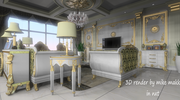 3D classical room in NXT