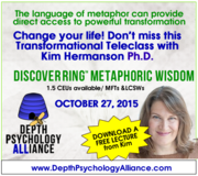 """DiscoverRing Metaphoric Wisdom"" Teleclass with Kim Hermanson PhD"