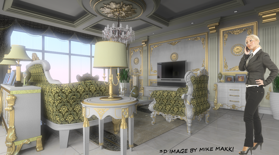 classical room VERSION 2