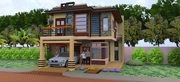 2 storey modern house
