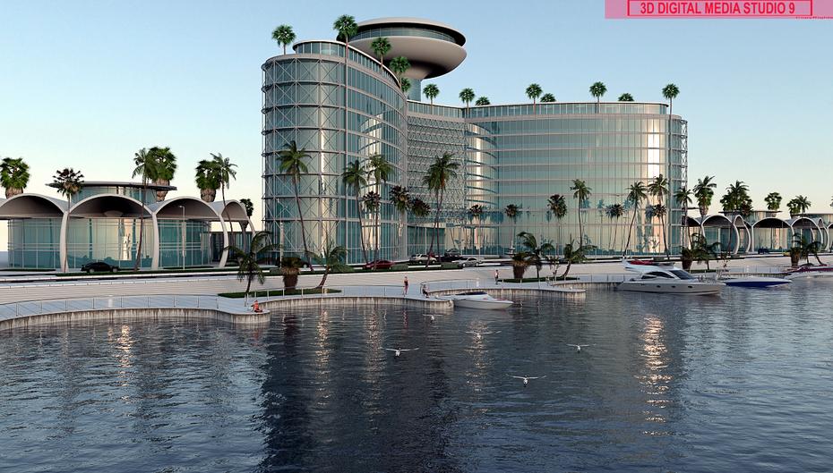 Syrian resort development