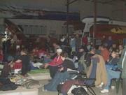 slumber party crowd