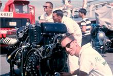 Skip Schott, Dixon and Dave Smith, Seattle Gold Cup, 1965.