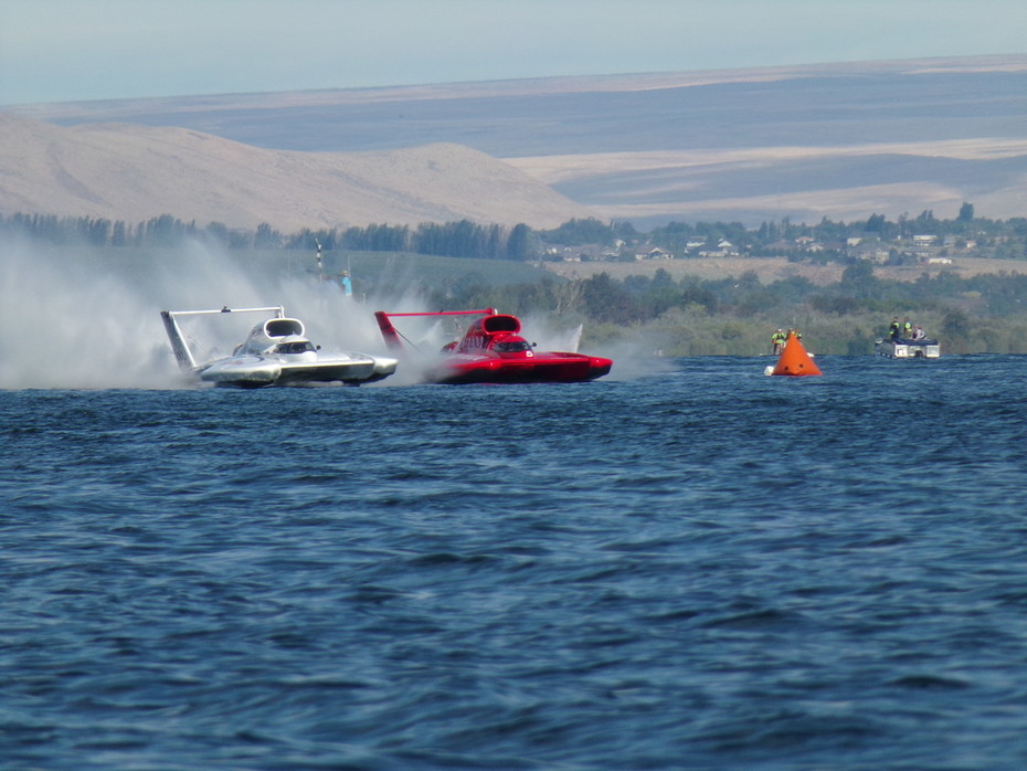 Great Heat Racing with Elam-Jean Theoret and Graham Trucking- J Michael Kelly, Tri Cities 2015