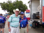 With the Commish. Steve and I Tri Cities 2015. Been friends for 24 yrs since first meeting in Detroit in 1991
