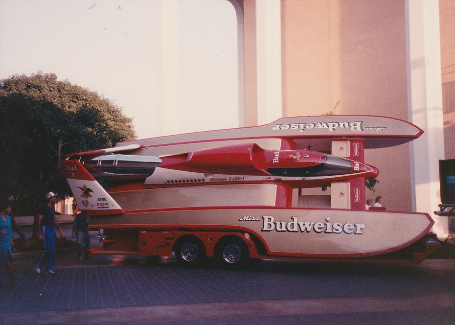 Miss Budweiser 1989 Mission Valley Display (7)