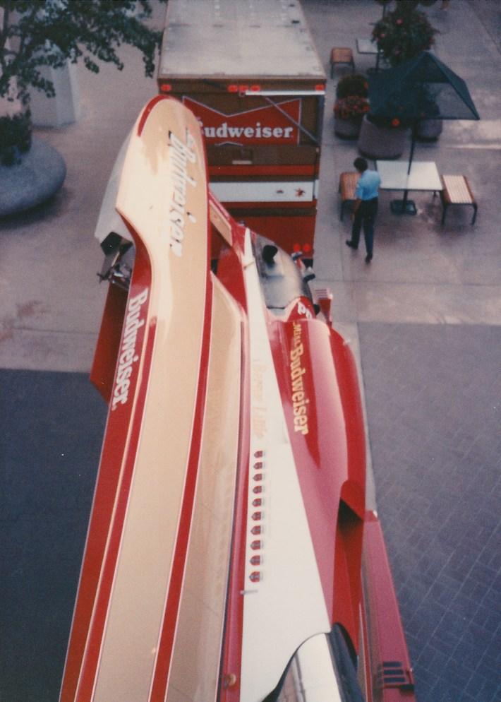 Miss Budweiser 1989 Mission Valley Display (5)