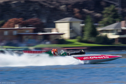 1975 OH Boy! Oberto at speed on Lake Chelan