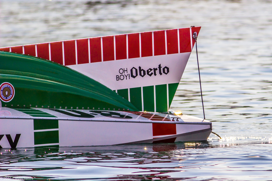 1975 OH Boy! Oberto tail fin