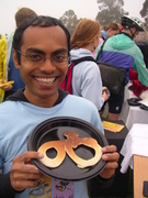 Soumil Mehta  at BTW Day Bike-Shaped Pancake