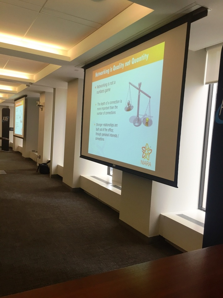 RU40s, APIW, and AXIS Networking- Lunch and Learn- Event