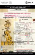 III Coloquio sobre la Sexualidad en Mesoamérica: estudio y aportaciones