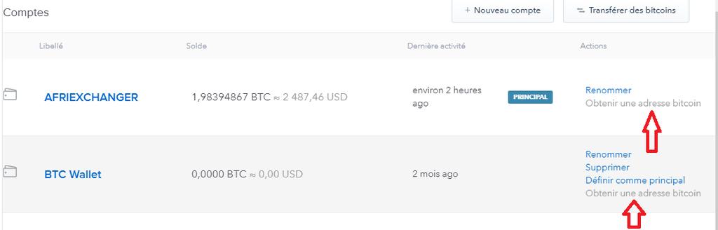 convient aux hommes/femmes haute couture prix pas cher Coinbase - Comment connaître son adresse Bitcoin pour ...