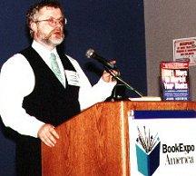 John Kremer speaking at BookExpo America