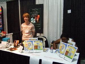 Authors' Row author Judy Andrekson
